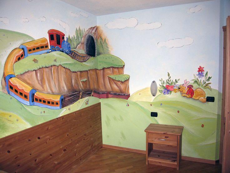 Trenino camera bambini