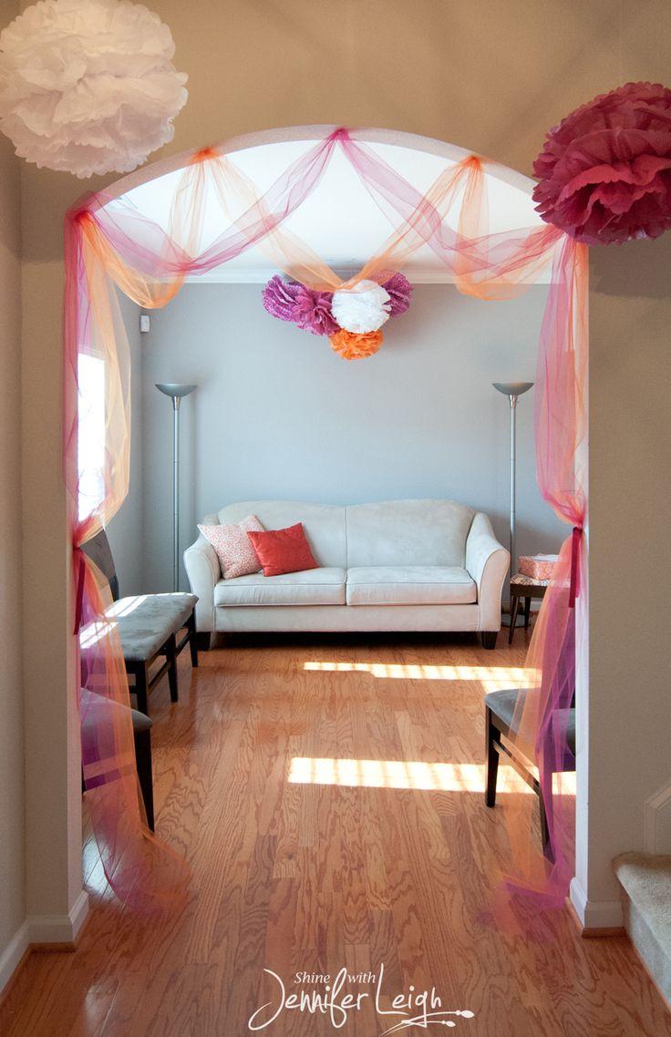 Best 25+ Tulle Decorations Ideas On Pinterest