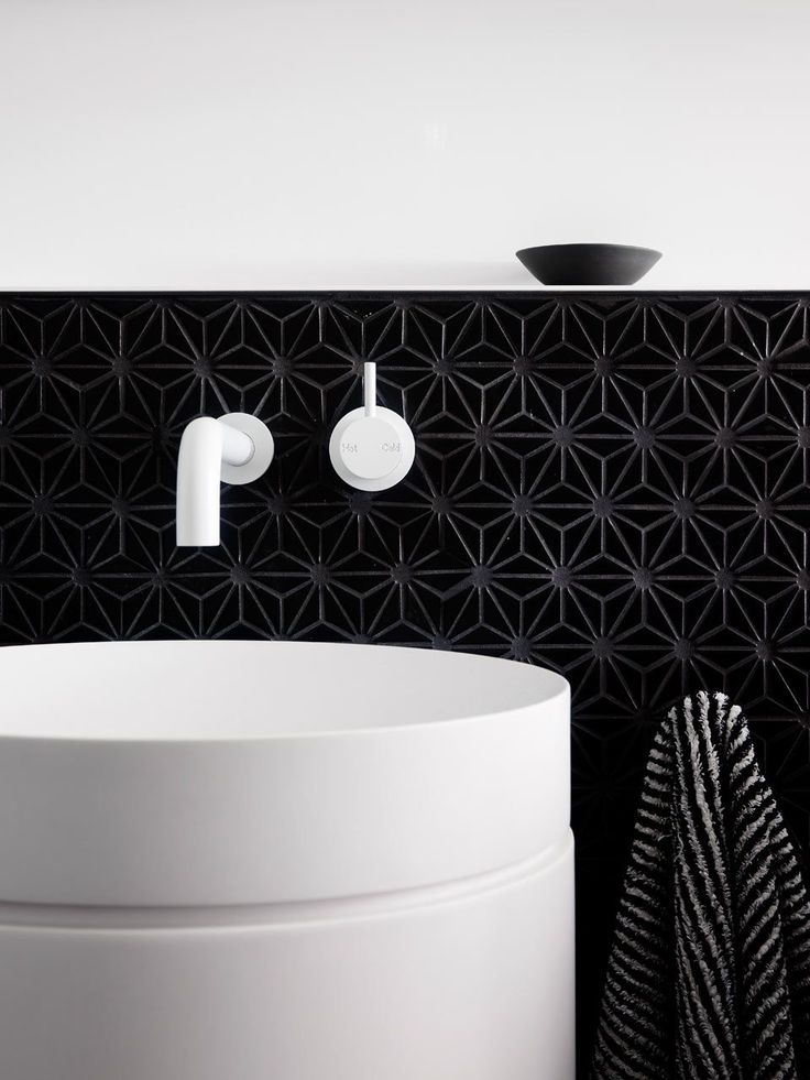 white sink & taps