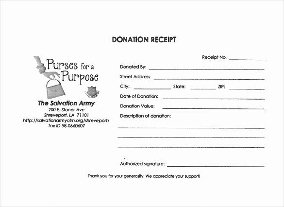 Donation Form Template Word Unique 23 Donation Receipt Templates Pdf Word Excel Pages Donation Form Receipt Template Templates