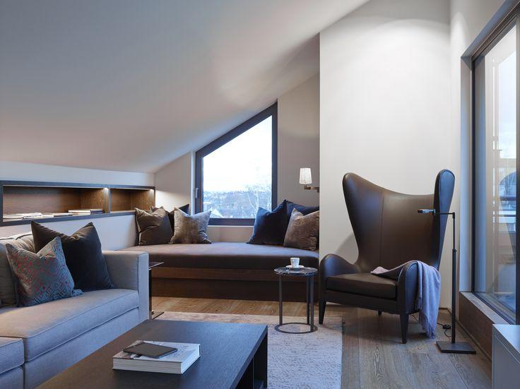 Penthouse, Oslo - Designed by Norwegian Interior Architect firm Metropolis arkitektur & design -  www.metropolis.no
