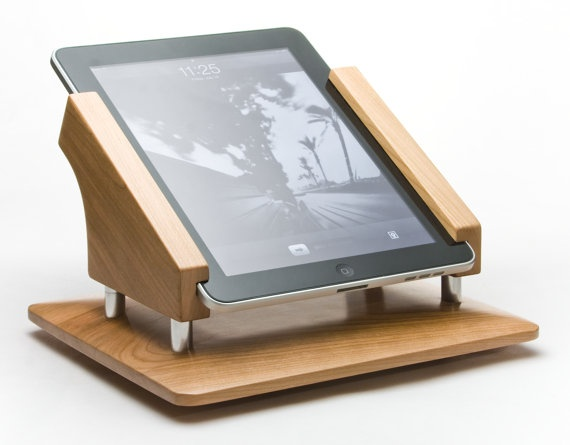 This would be awesome for your iPad to have it in the kitchen with recipes on it.