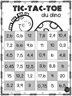 La classe de Karine: Jeux de maths!