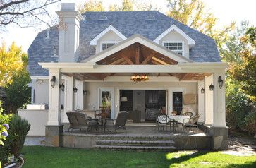 Covered Patio Rooms | covered Patio and BBQ addition in Palo Alto - traditional - patio ...