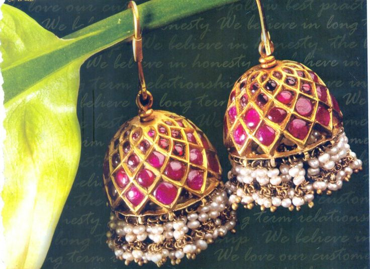 ruby-emeralds-uncut-gold-jhumkas