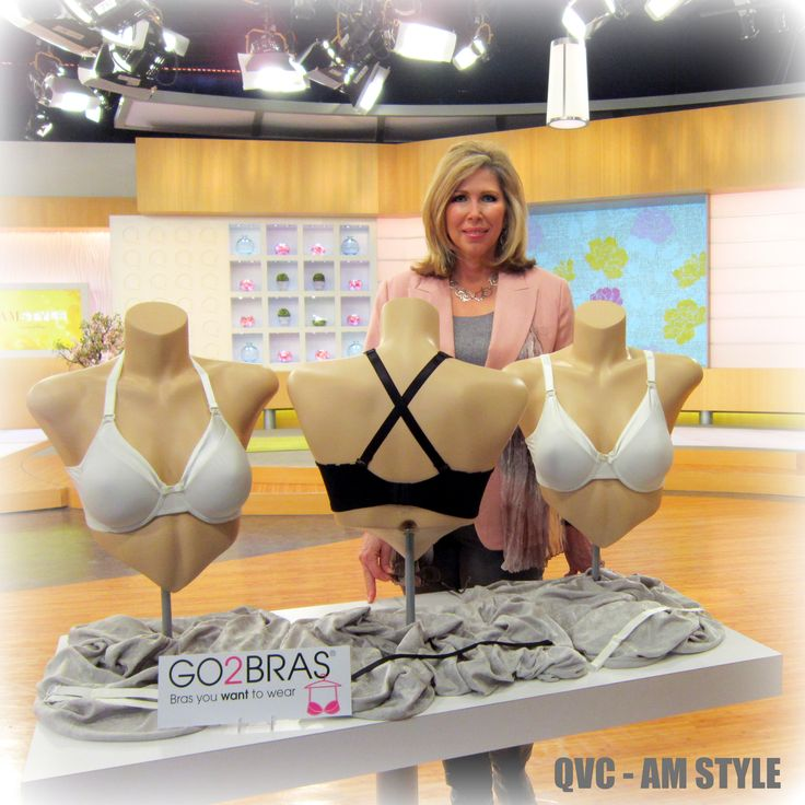 2012 GO2BRAS on QVC with founder Connie Elder