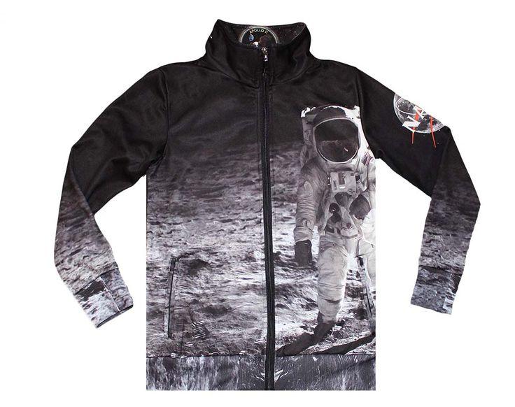 'Moonwalk' men's printed sweatshirt