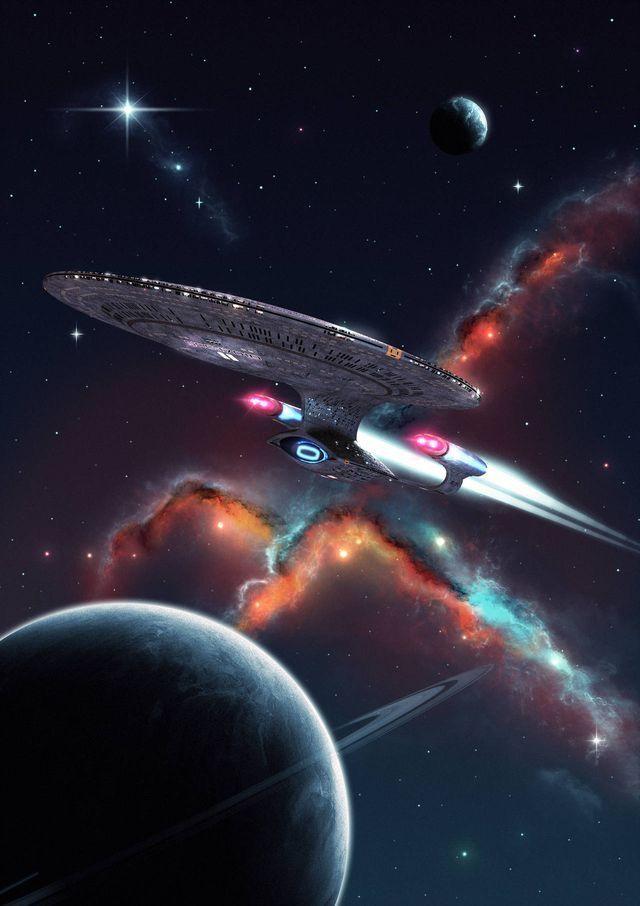 Uss Enterprise Ncc 1701 D : enterprise, Enterprise,, 1701-D., Wallpaper,, Ships