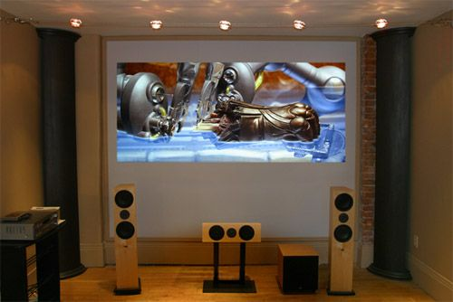 15 best Home Theater - DIY projector screens images on ...