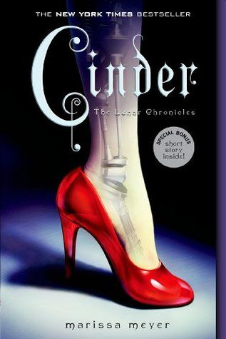 Review for Cinder (The Lunar Chronicles #1) by Marissa Meyer