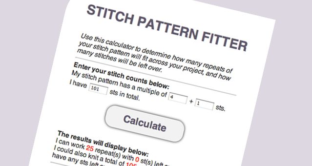 Knitting Pattern Calculator : Top 25 ideas about knitting-computer on Pinterest Cable, Knitting and Sweat...