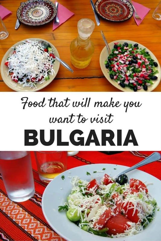 Bulgarian Food That Will Make your Mouth Water