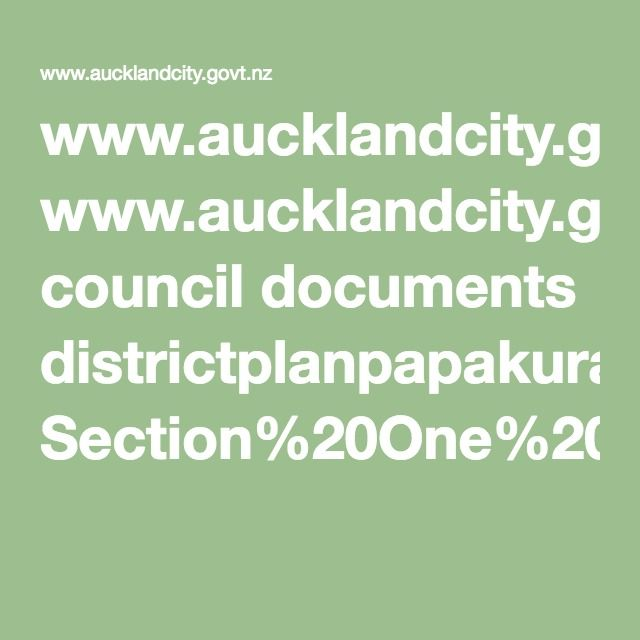 www.aucklandcity.govt.nz council documents districtplanpapakura Section%20One%20Part%203%20-%20Maori%20Perspective.pdf