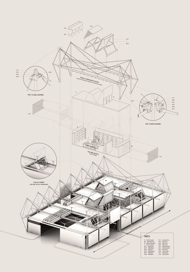 78 best images about exploded axonometric architectural for Architektur axonometrie
