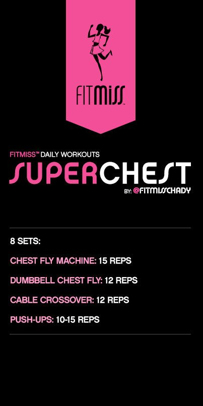 FitMiss Super Chest Workout