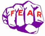 Fear/faith - Your fist = fear. When you hit an empty water bottle without its cap (faith), it'll crush. If you hit one WITH the cap (faith), it will NOT crush.