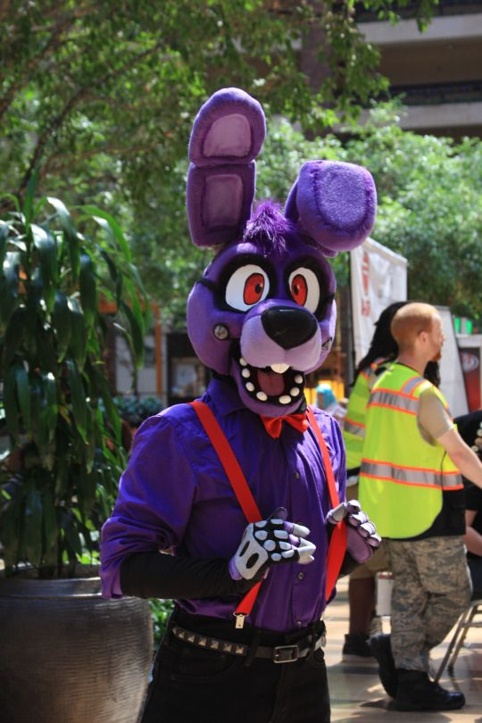 ALL DONE Got his arms and hands finished a day before the A-Kon It went great, and I had a really good time as Bonnie. best bun Cosplay was entirely made by me, and is not for sale Photo was ...