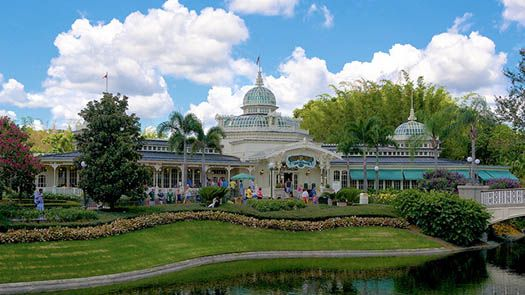 Image result for disney world crystal palace