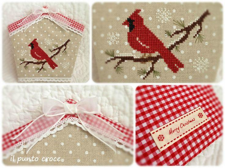 The little stitcher - little red bird 3