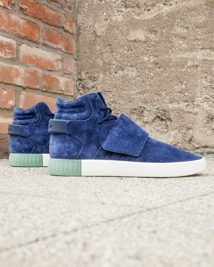 Adidas Tubular Invader Strap With Jeans