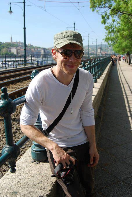Joseph Morgan from the Vampire diaries, in Budapest (via his FB page, 2013)