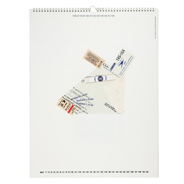 Calendar: The Chinese horoscope | Alan Fletcher. Limitations - material