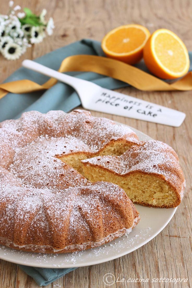 torta al succo d'arancia senza glutine latte e burro ricetta