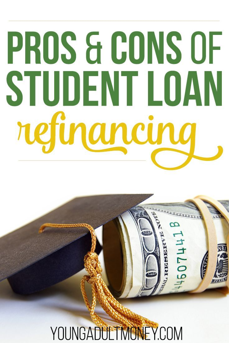 Student loan refinancing has benefits such as lower monthly payments and better interest rates. However, it's a big financial decision that comes with pros and cons.
