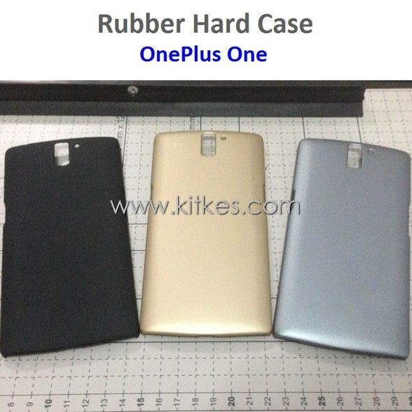 Rubber Hard Case OnePlus One - Rp 75.000 - kitkes.com