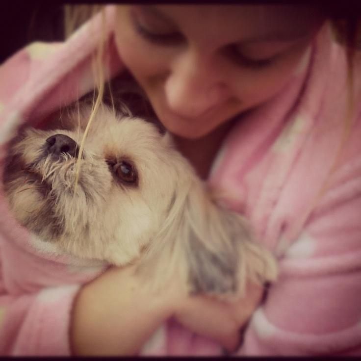 Cuddles for Barney Bear