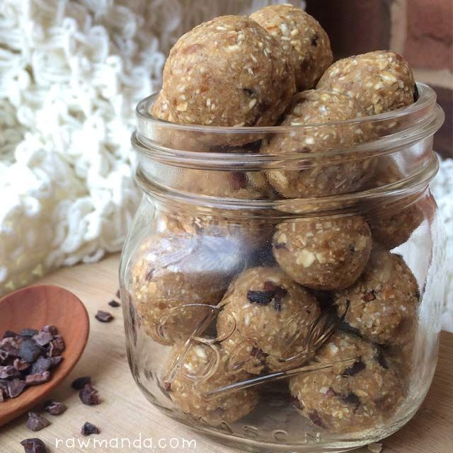 Raw Cookie Dough Balls Recipe {nut-free, gluten-free}