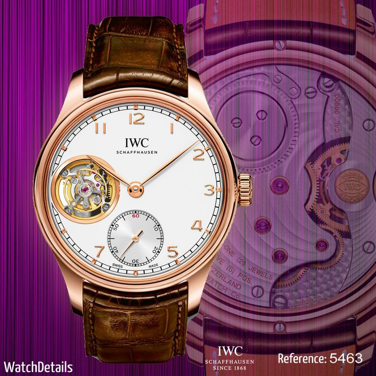 Read more Watches Portugieser Tourbillon Hand-Wound Reference 5463 http://goo.gl/4Y6MDt #watches #watch #fashion #style