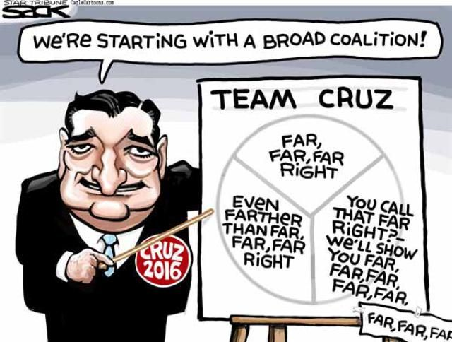 Political Cartoons of the Week: Ted Cruz Coalition