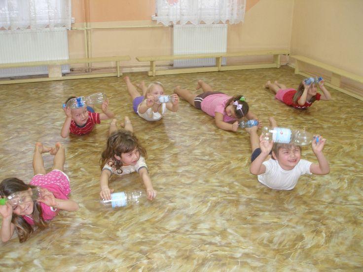 butelki po wodzie mogą być doskonałym przyborem do ćwiczeń gimnastycznych