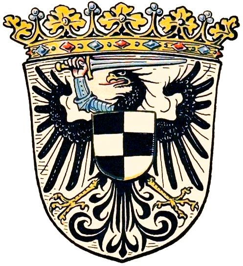 Coat of arms of the Frontier March of Posen-West Prussia (1922-1938).