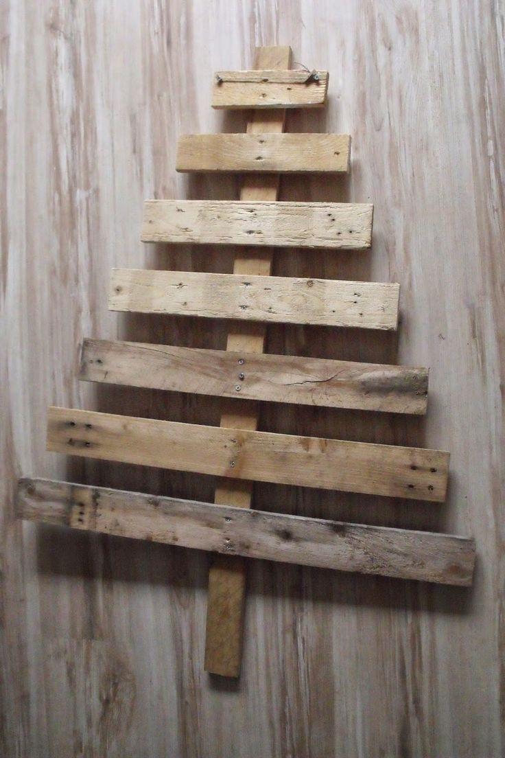 tuto calendrier de l'avent en forme de sapin en bois et scrapbooking