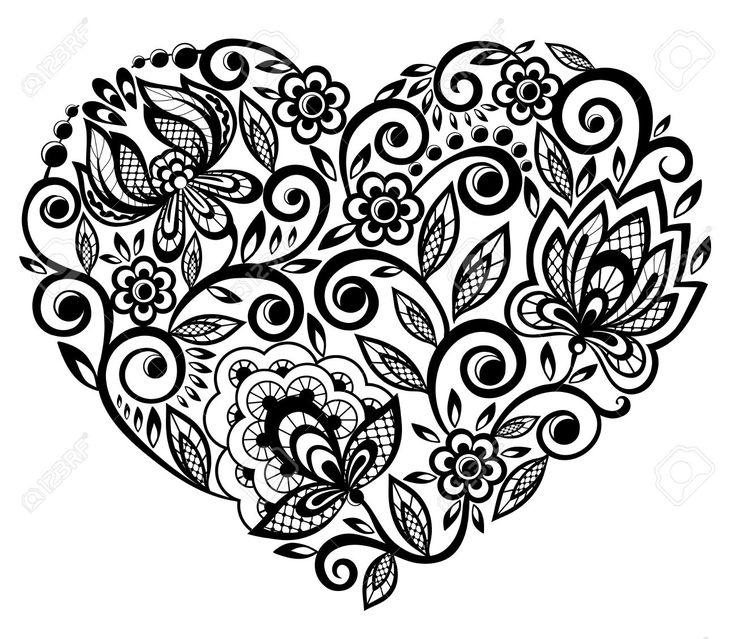Lace doily henna flower vector illustration design - Clip Art Libres De Droits Vecteurs Et Illustration Image 18276277