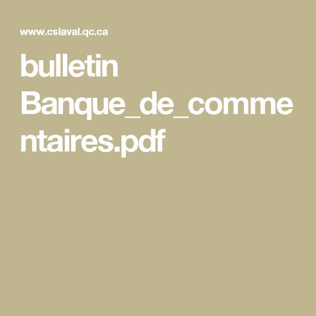 bulletin Banque_de_commentaires.pdf