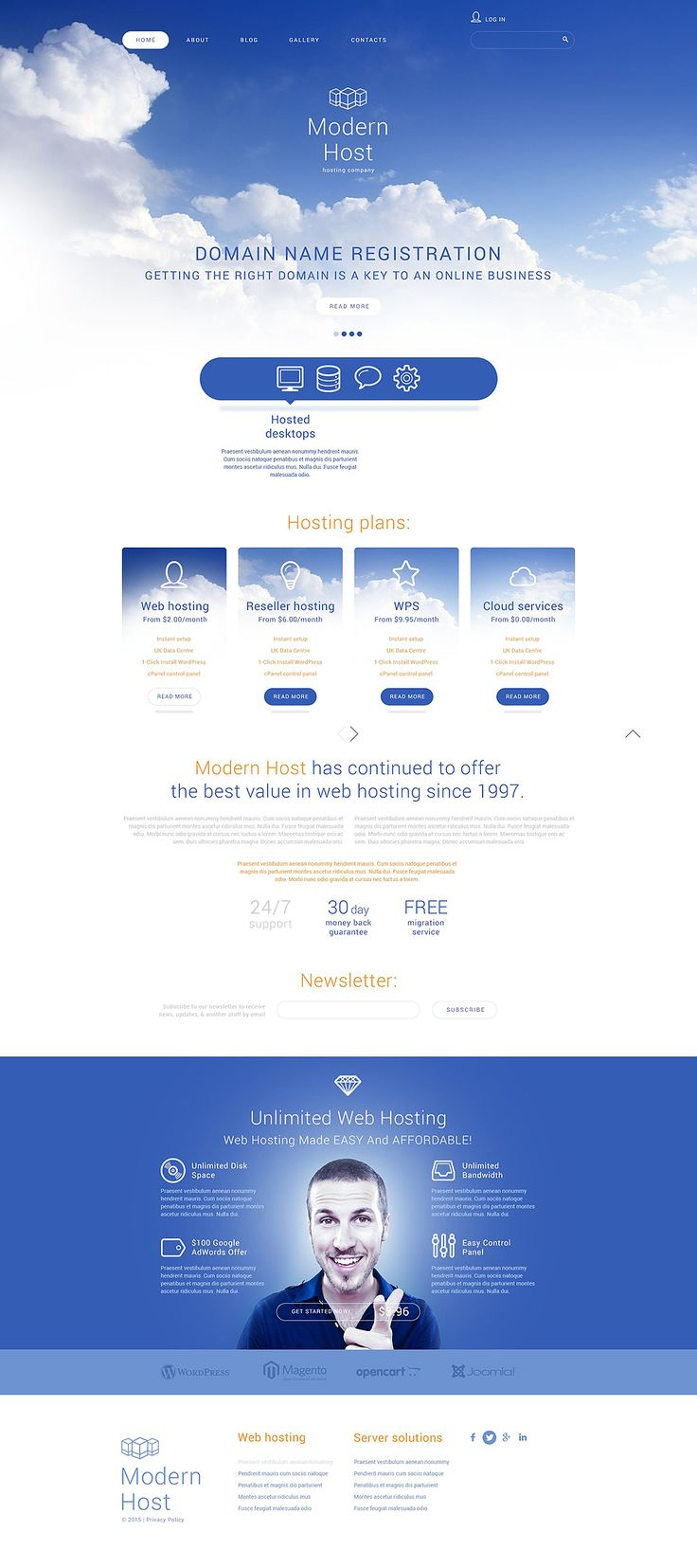 Unlimited Web Hosting Joomla Template http://www.templatemonster.com/joomla-templates/55596.html?utm_source=pinterest&utm_medium=timeline&utm_campaign=55596
