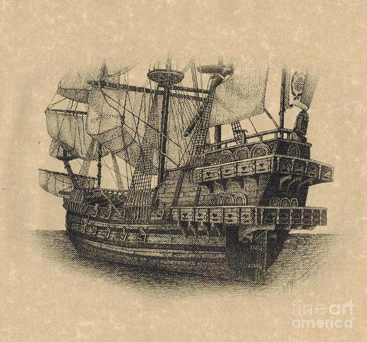 22 best tattoo ideas images on pinterest ships pirate ships and sailing ships. Black Bedroom Furniture Sets. Home Design Ideas