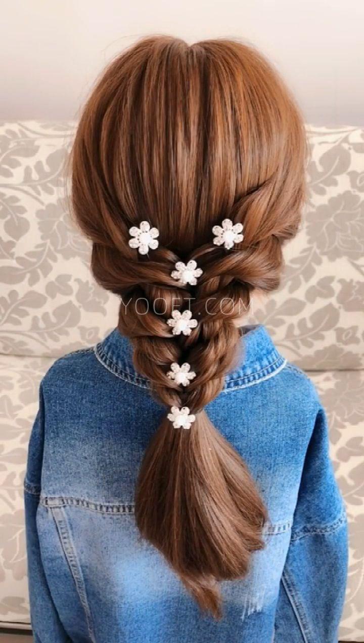 Korean Bridesmaid's Hair Style