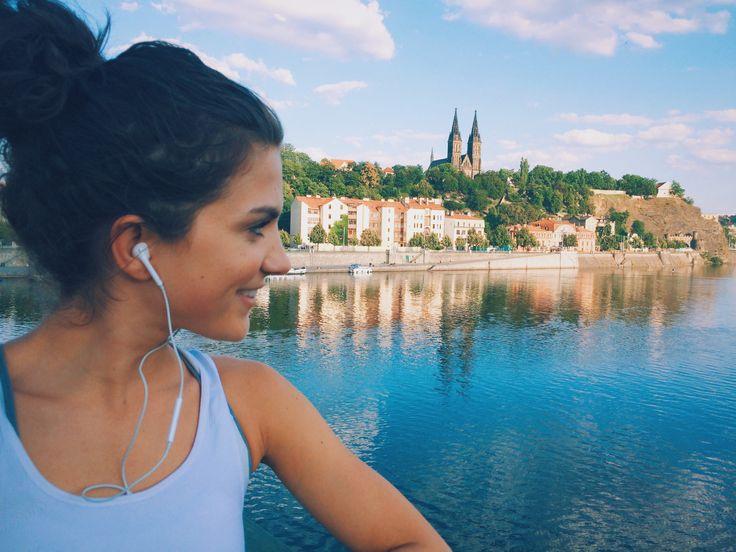My favourite #running spot in Prague!