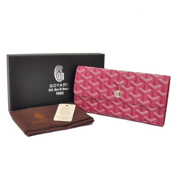 Amazing Cheap Goyard Wallets 20836 Rose Red Cheap | Goyard Bags San Francisco