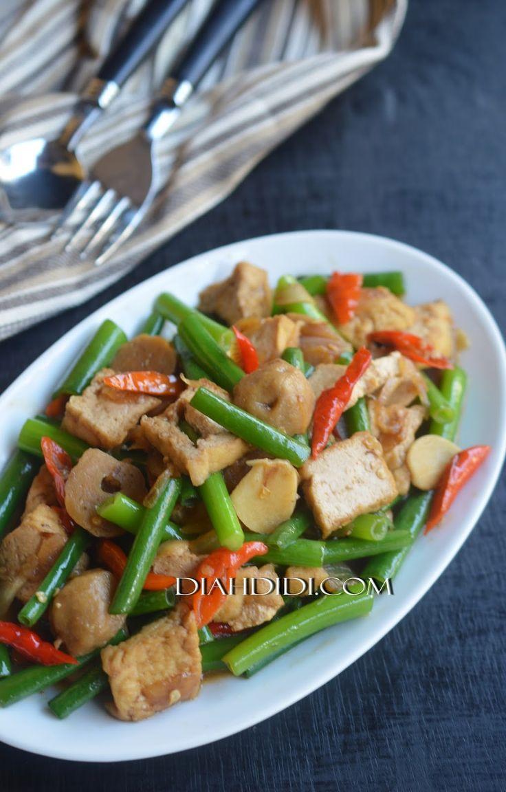 Diah Didi's Kitchen: Tumis Tahu & Dan Bawang