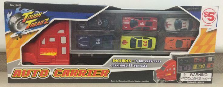 Family Dollar Stores Recall Tough Treadz Auto Carrier Toy Sets Due to Laceration Hazard