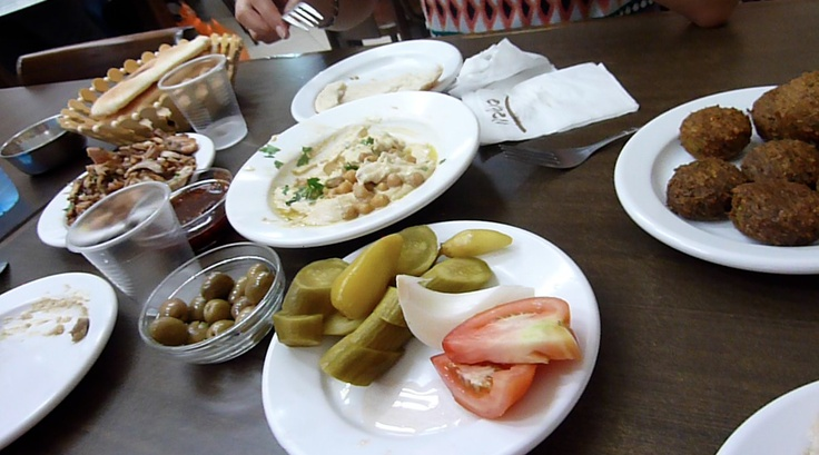 The tipical food in Israël, St Jean d'Acre