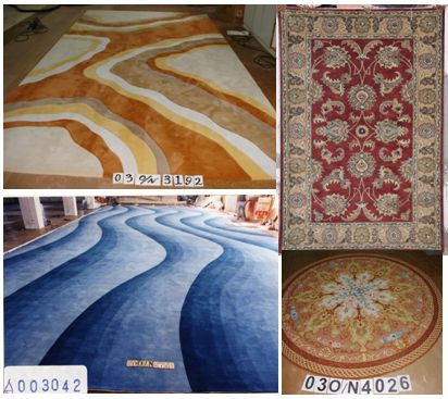 Hand-tufted rugs can withstand high traffic, and will begin to wear out after 12 to 20 years of use. High traffic areas include hallways, family room and entryway. Medium traffic areas include the dining room and home office. Low traffic areas include bedrooms and formal living room.