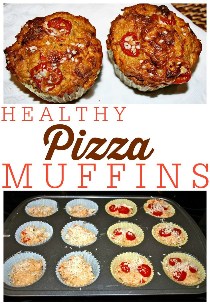Healthy Pizza Muffins will have the kids running home from school.