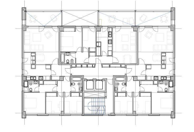 Imagen 23 de 43 de la galería de Edificio Vilamarina / Batlle i Roig Arquitectes. Planta