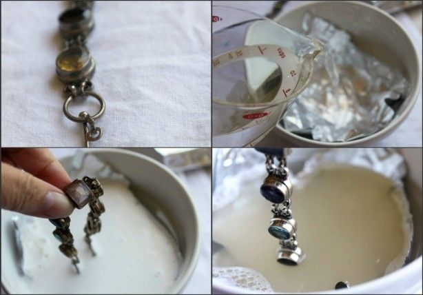 11 best how to clean silver jewelry images on pinterest for How to clean jewelry with baking soda
